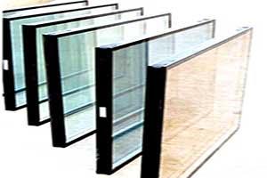 شیشه ی دوجداره