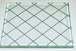 شیشه های سیمی