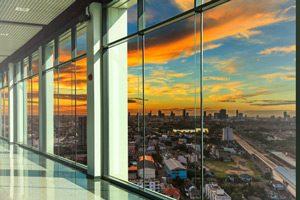 ساخت و ساز با دوام با شیشه