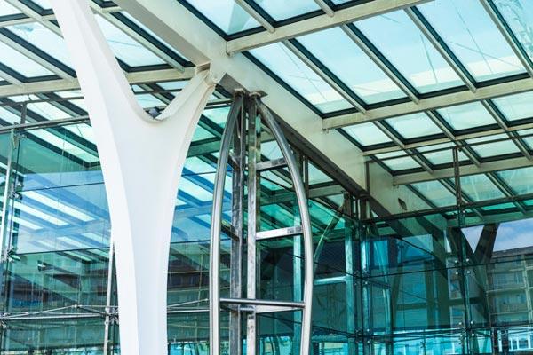 سازه های شیشه ای