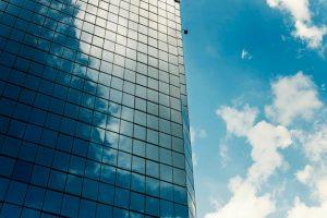 شیشه ساختمانی