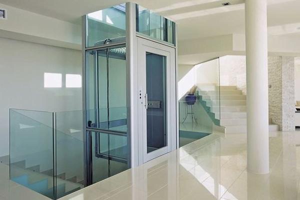 شیشه آسانسور