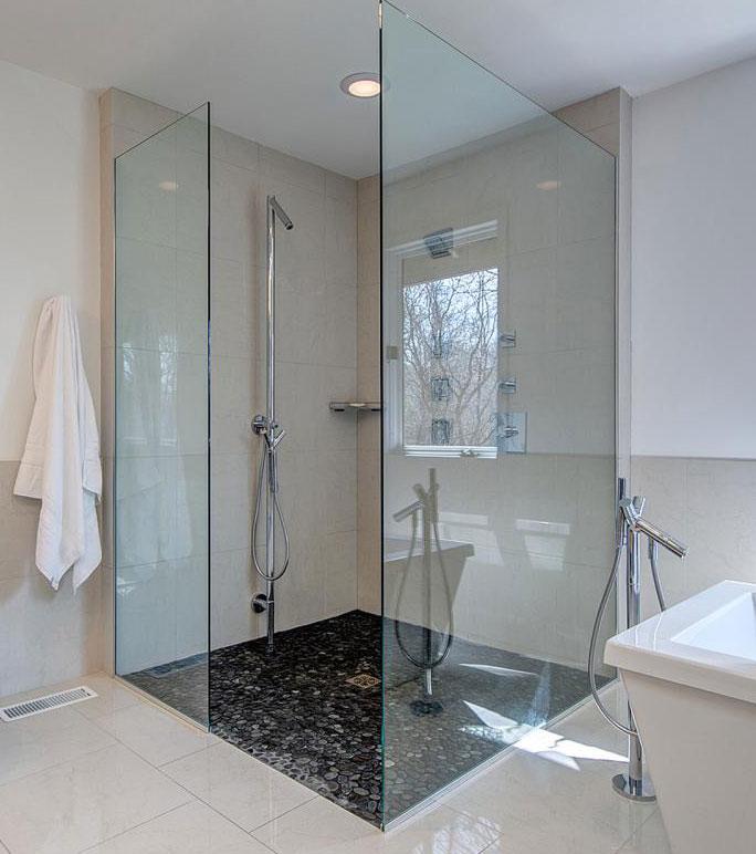 شیشه سکوریت برای حمام